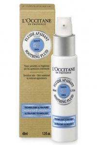 L'Occitane Shea Face Soothing Fluid, 40 ml
