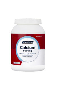 Nycoplus calcium tyggetabletter 500 mg