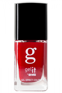 Gel It neglelakk Runway Red