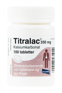 Titralac Tabletter