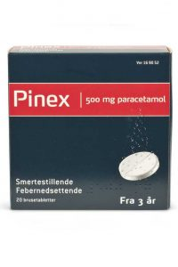 Pinex 500 mg brusetabletter