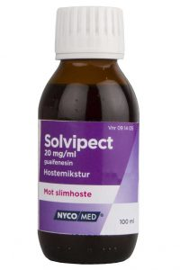 Solvipect hostemikstur 20 mg/ml