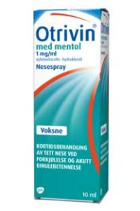 Otrivin Nesespray med mentol 1 mg/ml