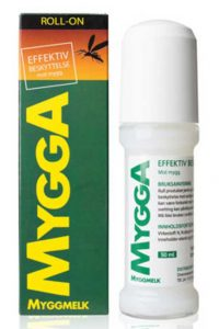 Mygga Roll-on 20 % DEET, 50 ml