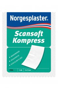 Scansoft Steril Kompress 7,5cm x 5cm