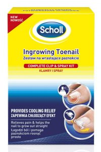 Scholl behandling for inngrodd tånegl