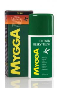 MyggA Spray 9,5% DEET