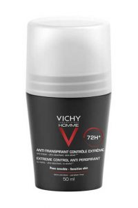 Vichy Homme antiperspirant deodorant roll-on 72h med parfyme