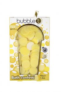 BubbleT Bath Confetti Lemongrass & Green Tea
