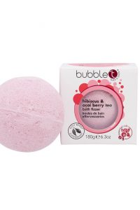 BubbleT Bath Fizzer Hibiscus & Acai Berry Tea