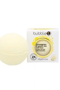 BubbleT Bath Fizzer Lemongrass & Green Tea