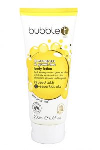 Bubble T Bodylotion Lemongrass & Green Tea