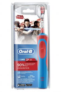 Oral-B Stages Power elektrisk tannbørster til barn, Star Wars-motiv