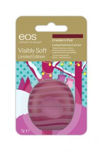 Eos lip balm cranberry pear - Limited Edition
